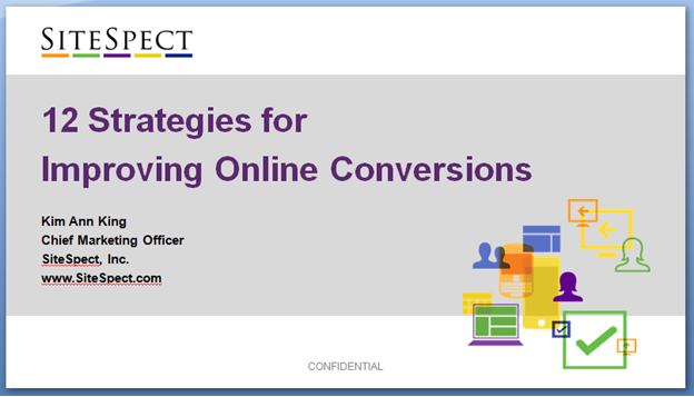 12 Strategies for Improving Online Conversions