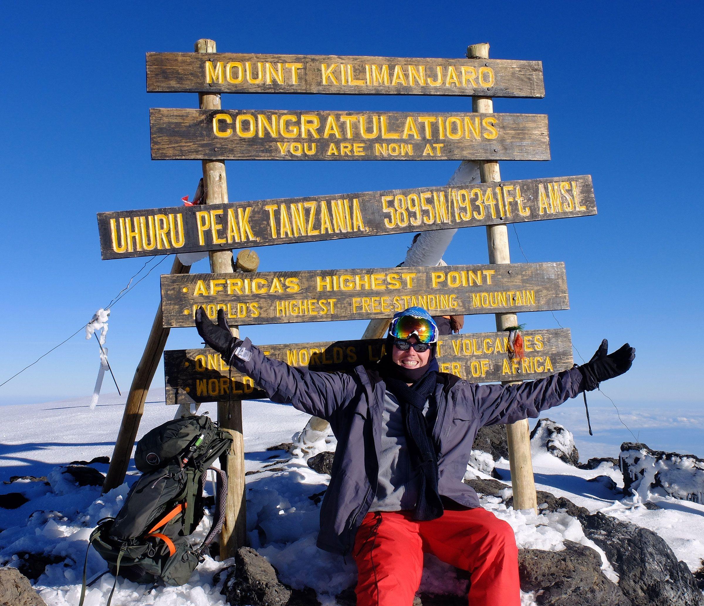 Mount Kilimanjaro and website testing
