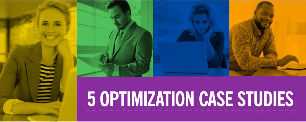 5 Optimization Case Studies