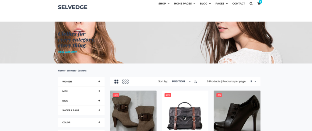 Product List Page SiteSpect