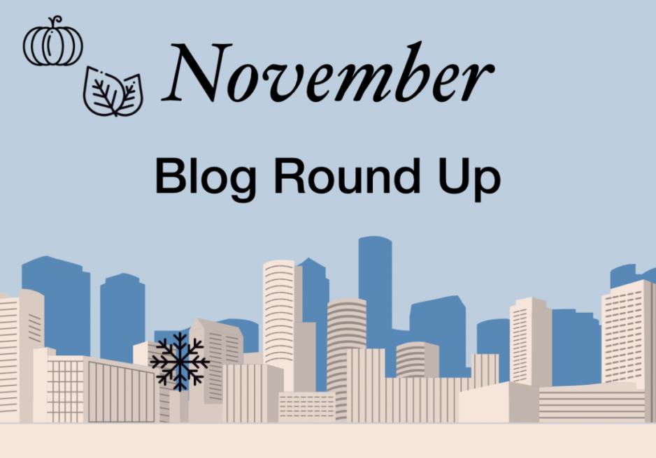 November blog round up