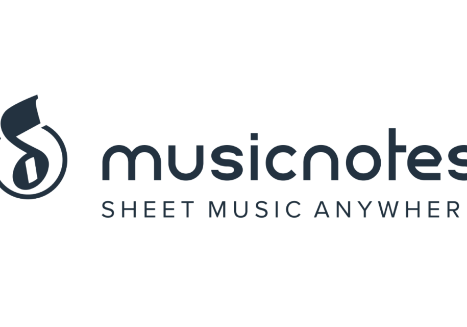 white background musicnotes